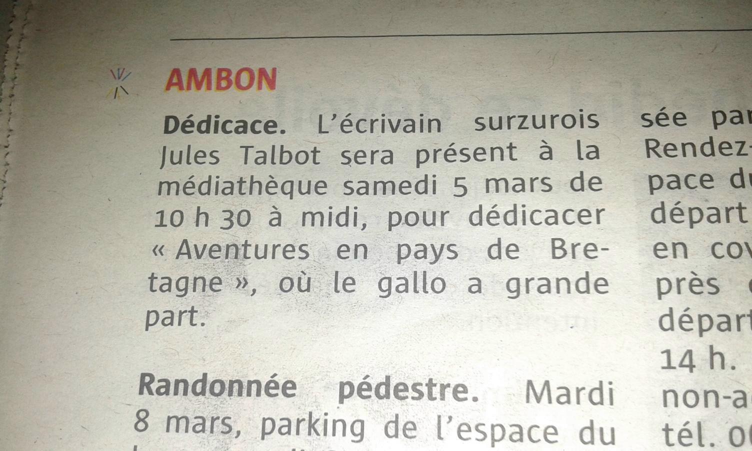 article journal Le Télégramme